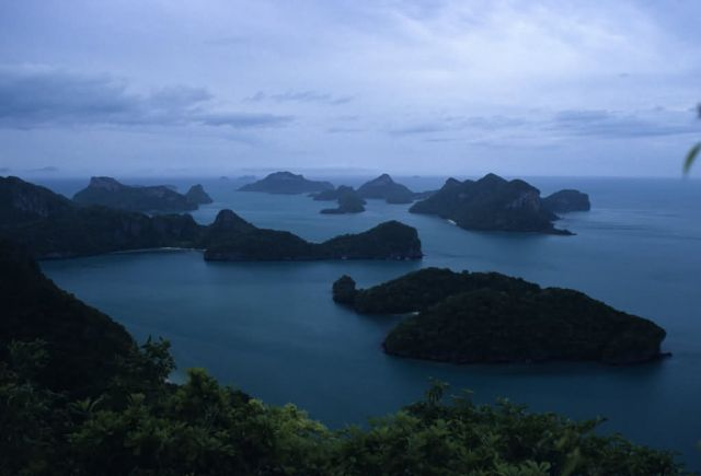 Aerial View of Mu Ko Ang Thong (Marine) National Park Picture