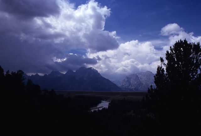 Mountains and Snake River Picture