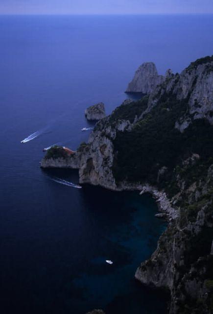 Aerial View of Capri Island Picture