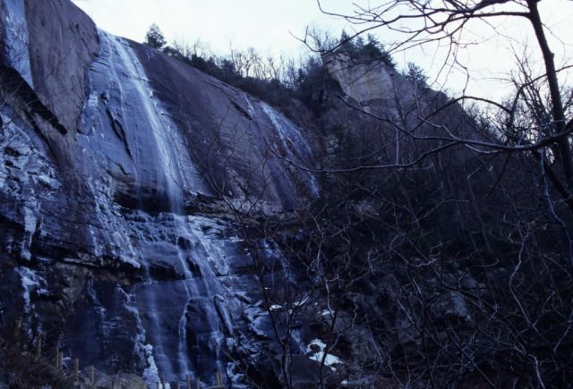 Hickory Nut Falls Picture