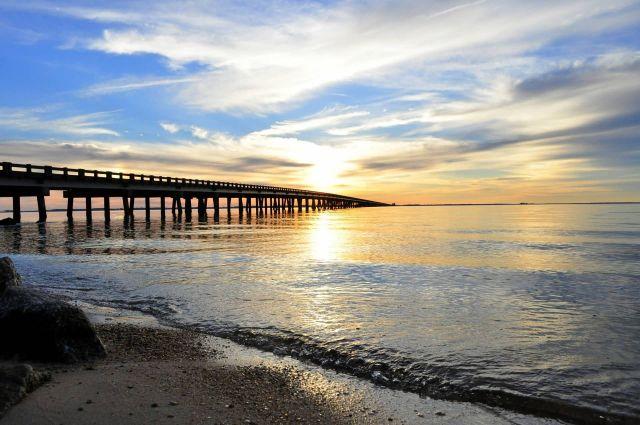 Bridge Sunset Picture