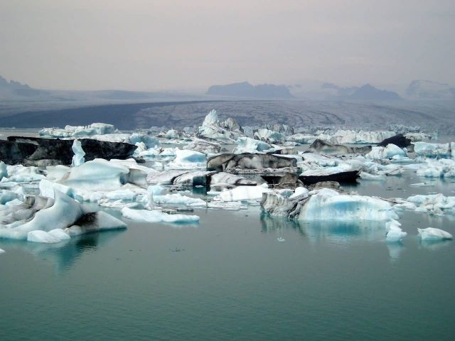 Iceland Iceberg Glacier Picture