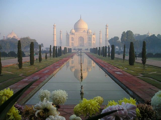 Taj Mahal Agra India Picture