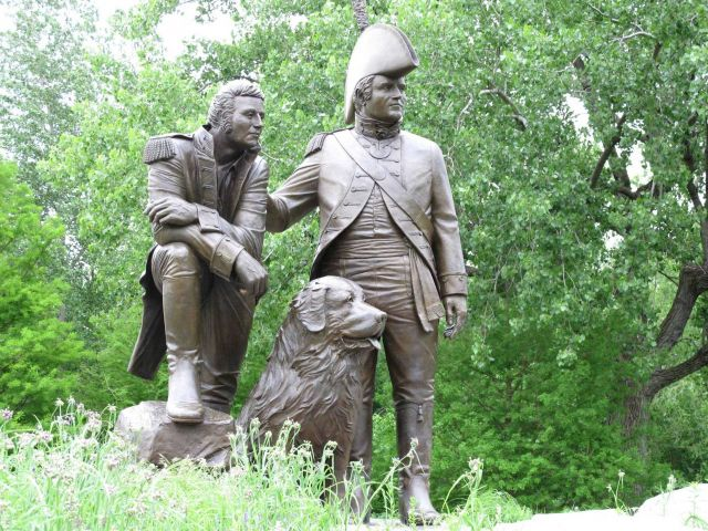 The Lewis and Clark statue at St Picture