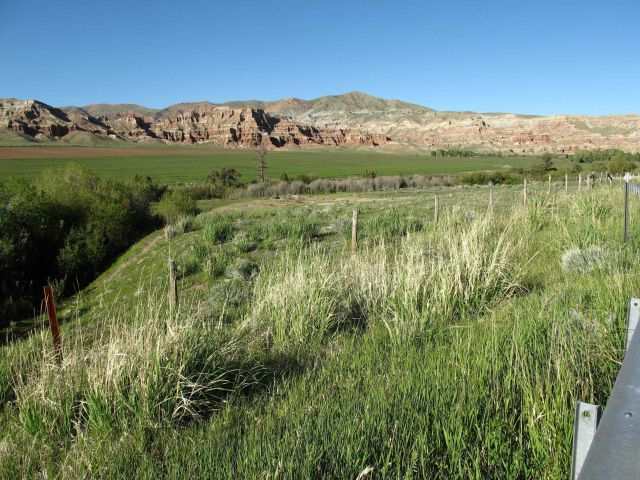 The Wind River Valley, south of Dubois Picture