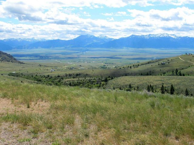 Looking into the Madison Valley from an un-named pass between Ennis and Twin Bridges. Picture