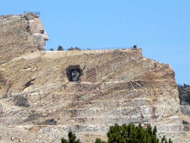 The Crazy Horse Memorial, a work in progress Picture