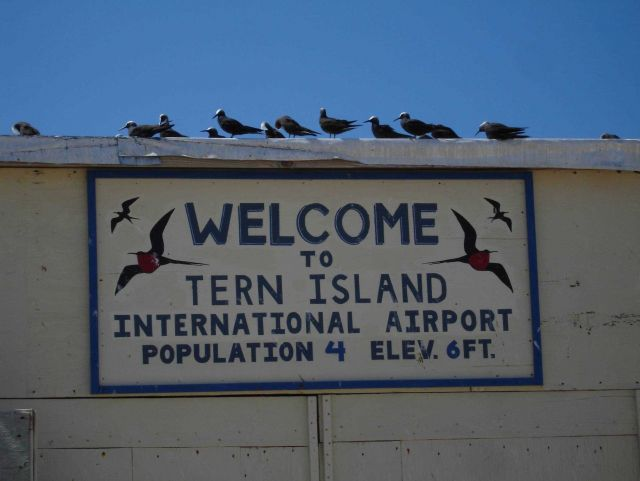 The Tern Island International Airport Picture