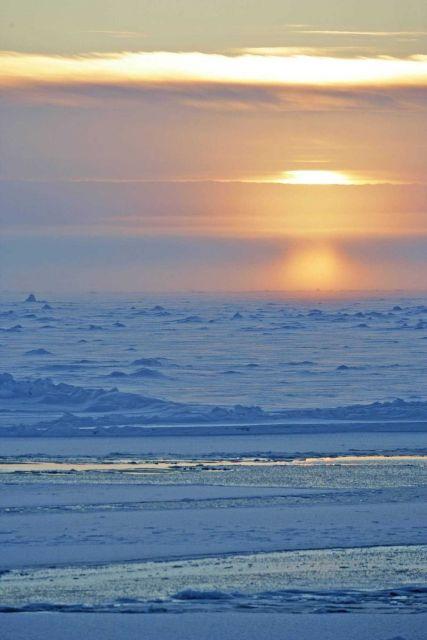 Arctic sunset Picture
