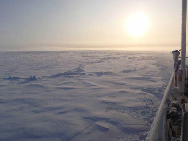 Sun seen through ice crystal haze Picture
