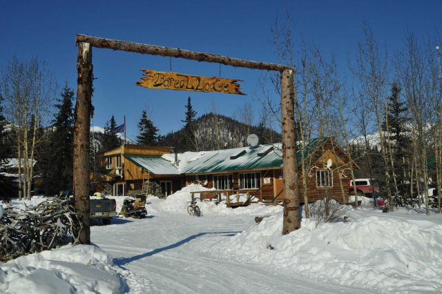 The Boreal Lodge at Wiseman Picture