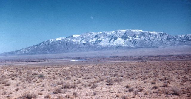 Sandia Mountains across the Rio Grande Valley Picture