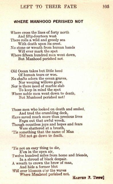 poem go down death
