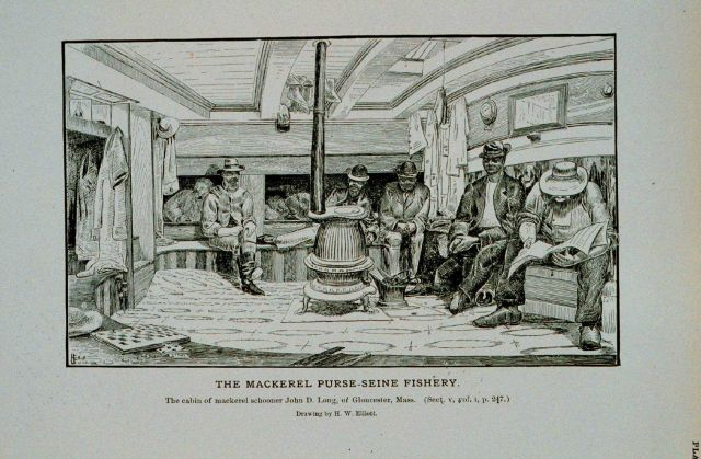 The cabin of mackerel schooner John D Picture