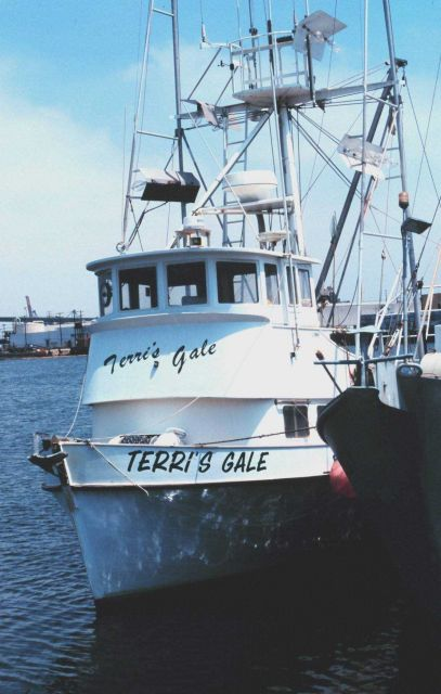 The fishing vessel TERRI'S GALE is a bait boat Picture