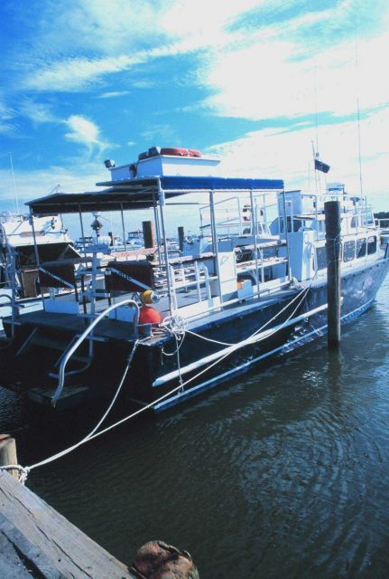 Commercial lobster boats operating out of Indian River Picture