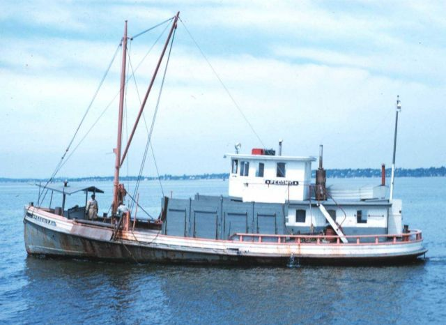 A Long Island Sound oyster boat Picture
