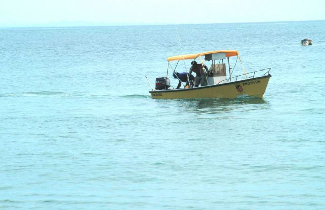 Fishing craft built by the municipality of Rincon Picture