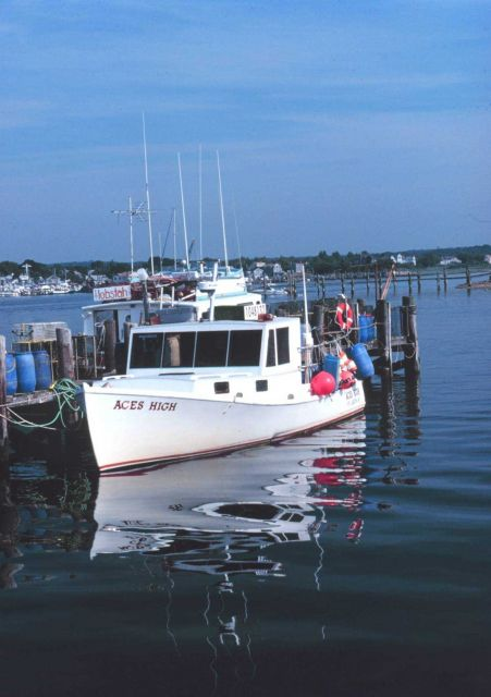 The F/V ACES HIGH is a coastal lobster boat Picture
