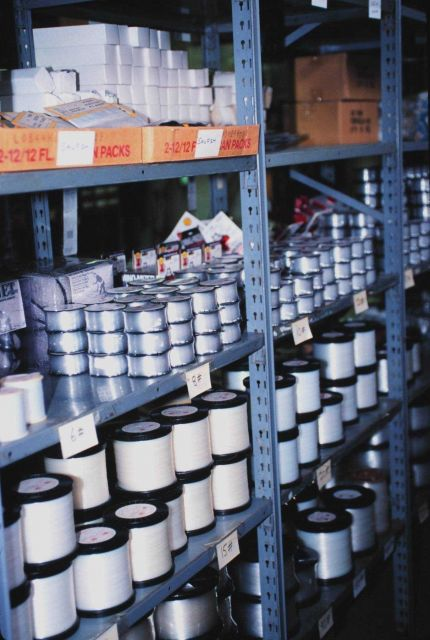 Fishing gear at the SOC Corporation Fishing Tackle Warehouse Picture
