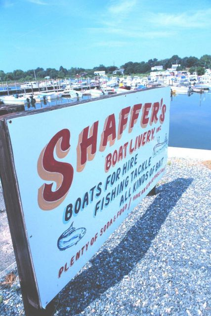 Shaffer's Boat Livery rents small fishing boats Picture