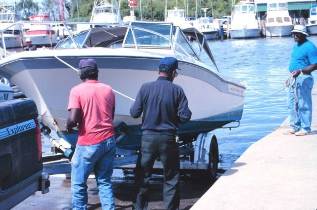 Public boat ramps allow easy access to America's recreational fisheries Picture