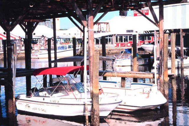 PORT-O-CALL Marina is home to recreational fishing boats Picture