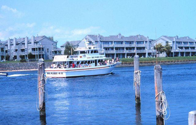 The headboat F/V BIG MARIE - S II departing marina Picture