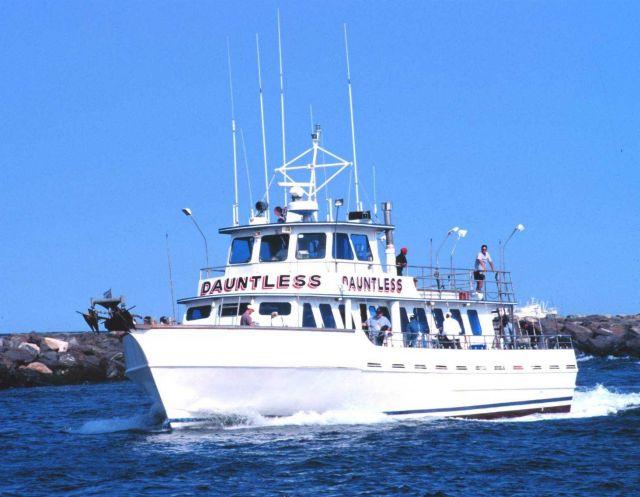 A recreational fishing boat enters manasquan inlet after a for Manasquan inlet fishing