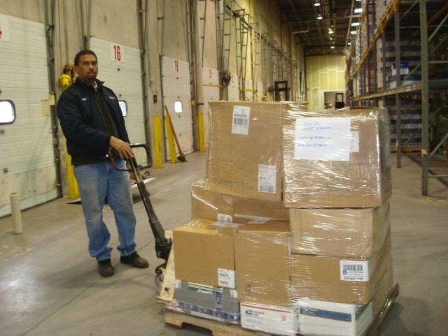 Humanitarian goods shipment to Senegal at U Picture