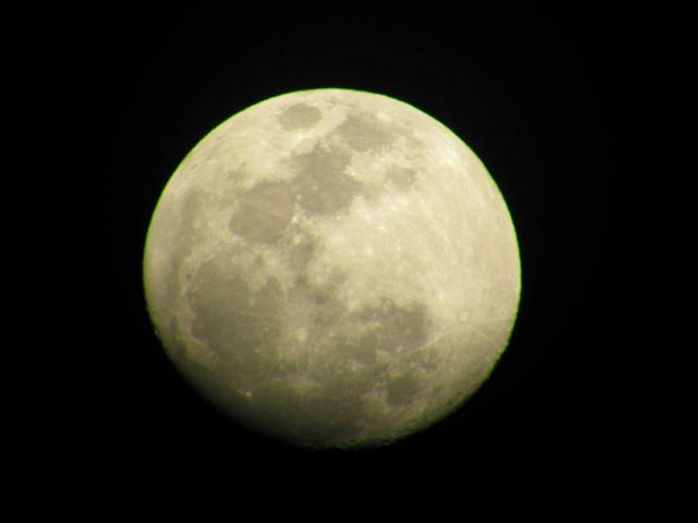 Bigeyes view of moon. Picture