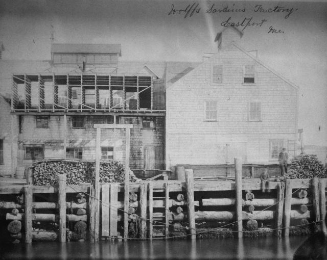 Wolffs Sardines Factory, Eastport, ME. Picture