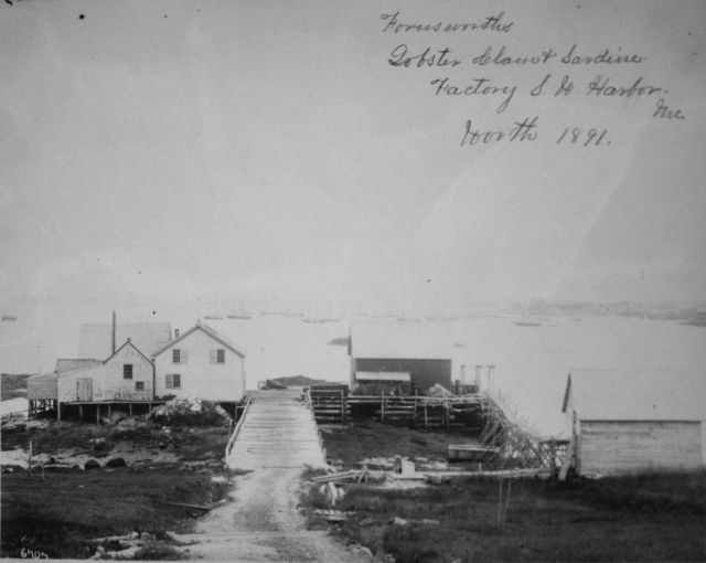 Farnsworth's lobster clam and sardine factory. Picture