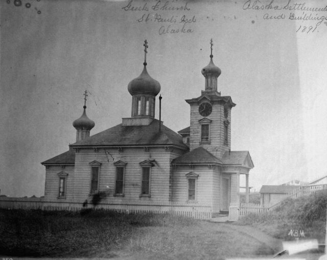 Greek (Russian Orthodox) church, St Picture