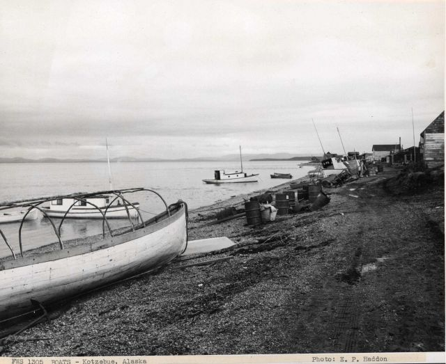 Fishing boats at Kotzebue Picture