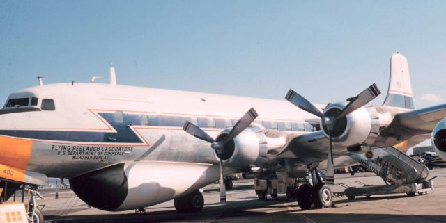 Weather Bureau DC-6 N6540C on the ground Picture