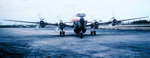 Weather Bureau DC-6 preparing for mission Picture