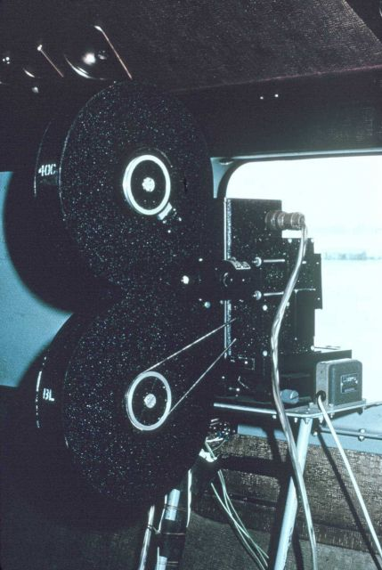 Side looking 25mm camera. Picture