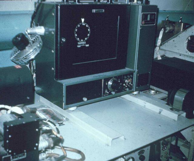 Mark V radar display. Picture