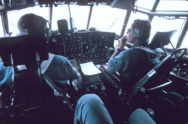 Cockpit of NOAA C-130 N6541C Picture