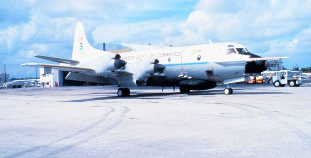NOAA P-3 N43RF on the tarmac Picture