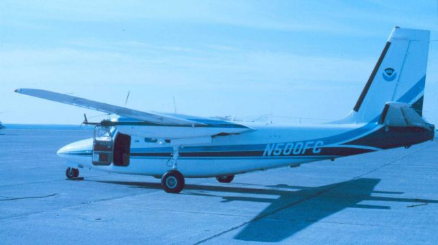 NOAA Rockwell International 500-S Shrike Commander. Picture