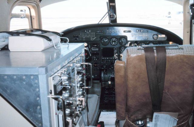 Inside a Light Aircraft Picture