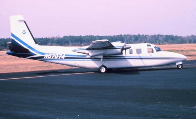 NOAA Rockwell International 500-S Shrike Commander. Picture
