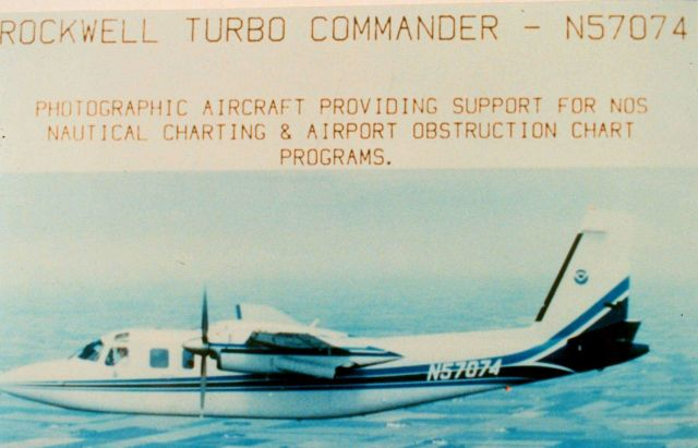 Rockwell Turbo Commander N57074 Picture