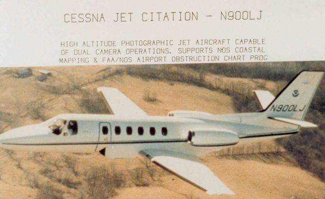 Cessna Jet Citation - N900LJ - High altitude photographic jet aircraft capable of dual camera operations Picture