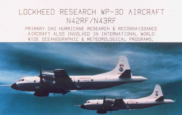 Lockheed Research WP-3D Aircraft N42RF / N43RF Picture
