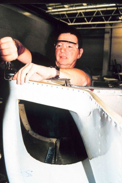 AOC Metalsmith Andy Hornbeck. Picture