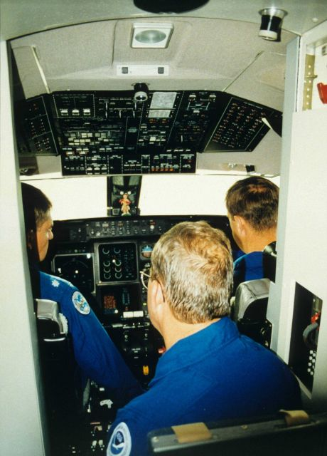 Inside the aircraft Picture
