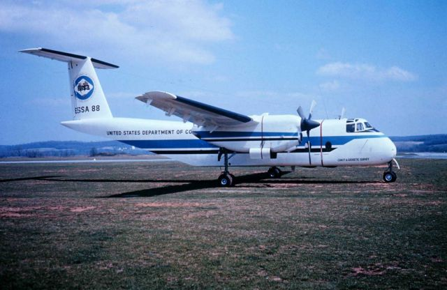 NOAA Buffalo used for photogrammetric missions. Picture
